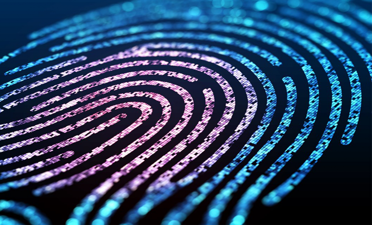 photo graphic of a digital fingerprint